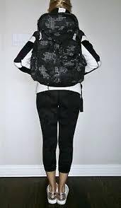 backpack black digital camo print