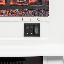 fireplaces 20 white freestanding