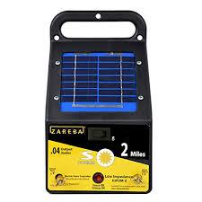 Zareba Esp2m Z 2 Mile Solar Fence Charger Amazon In Garden Outdoors