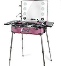 china rolling makeup train case pink