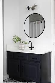 color cap double sconce 6 bathroom