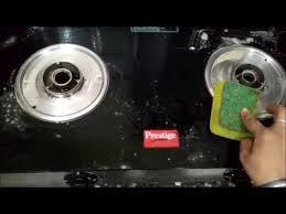 glass top stove cleaning