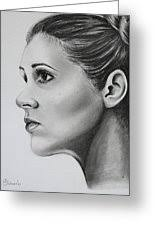 Carrie Fisher Drawing by Adriana Holmes