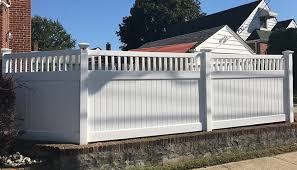 Pvc Fences Gates Double Virgin Vinyl Fencing Liberty Fence Railing