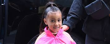 north west does kim kardashian s makeup