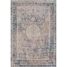 taupe and charcoal gray area rug