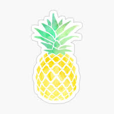 Pineapple Stickers Redbubble