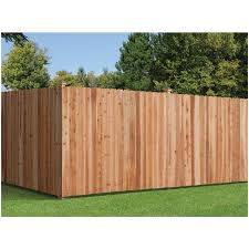 Severe Weather 6 Ft H X 8 Ft W Western Red Cedar Dog Ear Fence Panel In The Wood Fence Panels Department At Lowes Com