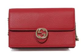 gucci gg interlocking leather wallet