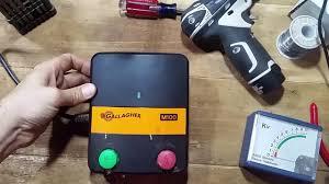 Gallagher M100 Wrangler Repair Youtube