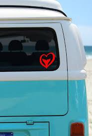 Mermaid At Heart Car Decal