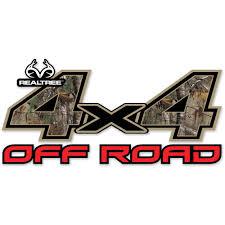 Realtree 4x4 Off Road Contour Cut Decal Includes Two 6 25 X 13 25 Decals Walmart Com Walmart Com