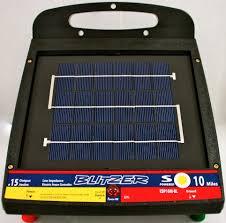 Solar Electric Zareba Solar Electric Fence
