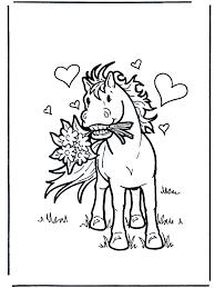 Verliefd Paard Kleurplaten Paarden