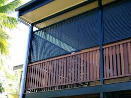 apartment building patio screen privacy