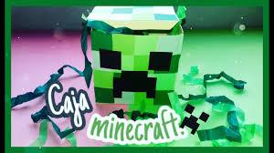 Cajita Minecraft Caja De Regalo Ana Lau Youtube