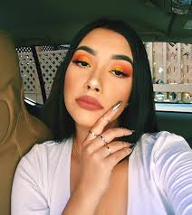 Orange Eyeshadow Makeup Looks Night Out Makeup Ideas Min Ecemella