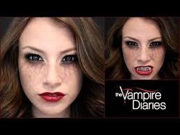 the vire diaries halloween makeup