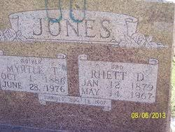 Myrtle Thompson Jones (1886-1976) - Find A Grave Memorial