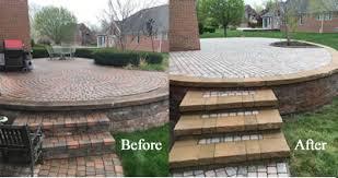 brick paver patio repairs