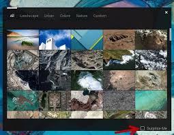 automatically refresh chromebook wallpaper
