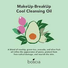 makeup breakup cool cleansing oil