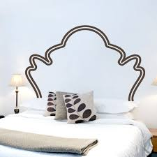Vintage Headboard Bedroom Wall Decals And Stickers
