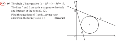 circles problem solving question