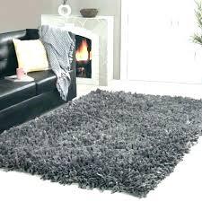 grey fluffy rug white rugs for