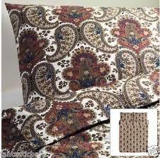 ikea brown backsota paisley duvet quilt