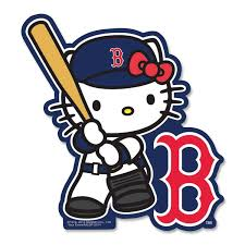 Decal Hello Kitty Batter Boston Red Sox Gifts Hello Kitty Red Sox
