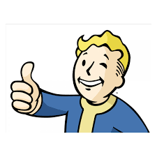 Fallout 4 Car Decal Thumbs Up Vault Boy Official Bethesda Store Europe