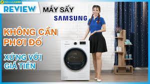 Máy sấy Samsung: không cần phơi đồ, có thể sấy giày (DV90M5200QW ...
