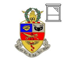 Window Decal Coat Of Arms Kappa Psi