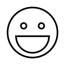 Blij Kleurplaten Smiley En Emoji