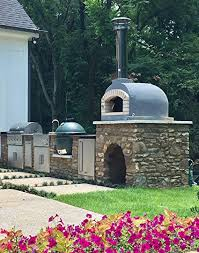 outdoor pizza oven wood fired
