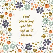 inspirational and motivational quotes background bright floral