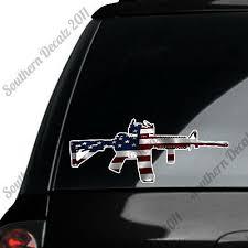 Girls Ar15 Crossbones Decal Ar 15 Rifle Target Shooting Decal Girl Skull Sticker