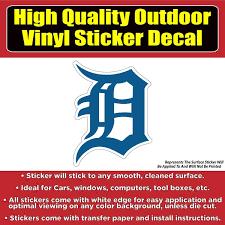 Detroit Tigers Baseball Vinyl Car Window Laptop Bumper Sticker Decal Colorado Sticker