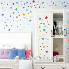 Hm51003 Colorful Star Diy Home Living Room Kitchen Nursery Decorative Wall Sticker Creativity Wall Decal View Wall Sticker Star Hm Product Details From Zhejiang Shenao Technology Co Ltd On Alibaba Com