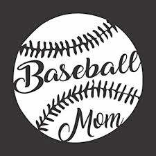 Amazon Com Barking Sand Designs Baseball Mom Sports Game Die Cut Vinyl Window Decal Sticker For Car Truck Automotive