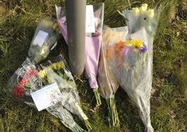Floral tributes at scene of fatal crash on A1156 Felixstowe Road which  claimed life of motorcyclist Duane Cook | East Anglian Daily Times