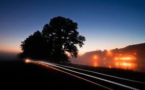 طريق ليل محل تصوير Hd خلفيات خلفية سطح المكتب