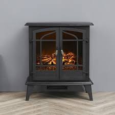 electric freestanding heater fireplace