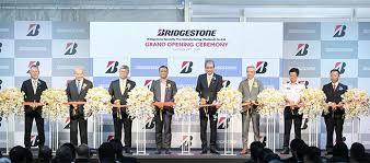 bridgestone holds opening ceremony for
