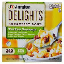 turkey sausage breakfast bowl 7 oz