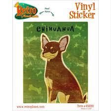 I Love My Chihuahua Dog Pet Car Van Tablet Fridge Decal Sticker 150mm