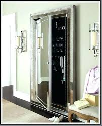 stand up mirror jewelry armoire