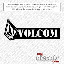 Car Decals Car Stickers Volcom Stencil And Stone Car Decal Anydecals Com