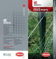 Hurricane Fence Posts Product Guide By Steel Tube Issuu